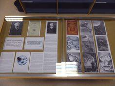 """La exposición es una de las actividades del ciclo """"Julio Verne: 3 semanas en Huesca"""" que durante este mes de abril organiza el Grupo de Investigación T3 Axel (Textos-Territorios-Tecnologías: Análisis cruzados entre lenguajes), y que ha convertido a Huesca en ciudad verniana de referencia.  El editor Pierre-Jules Hetzel trabajó codo con codo con Julio Verne durante más de dos décadas en la creación de la asombrosa serie """"Viajes extraordinarios"""", desde que en 1866 se decidió a publicar, con…"""