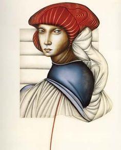 Artodyssey: Carmen Aldunate Romanticism Artists, Renaissance Fashion, Contemporary Artists, Magick, Chile, Disney Characters, Fictional Characters, Disney Princess, Painters
