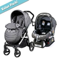 A favorite stroller and carseat bundle from #BambiBaby