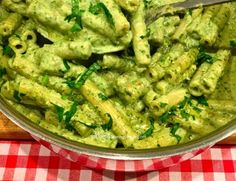 Zucchini + Mint + Cashew Ricotta + Pasta foodie Pinterest