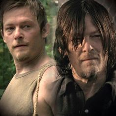 TWD Then and Now: Daryl