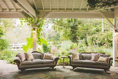 vintage furniture for the cocktail lounge |#cedarwoodweddings