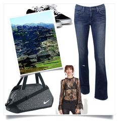 """""""SheIn"""" by time-tik ❤ liked on Polyvore featuring NIKE"""