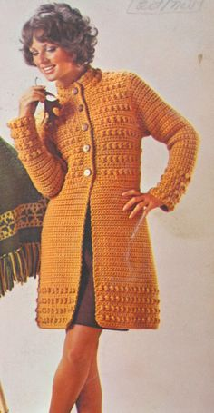 Vintage PDF CROCHET PATTERN Womens bubble by SherrisPhotographs, $4.00