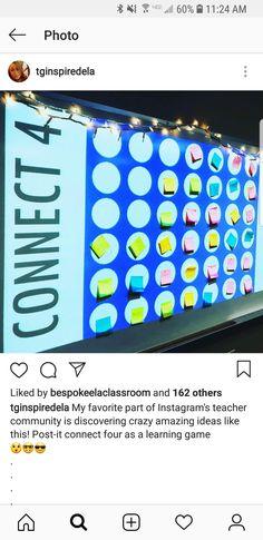 Connect für Klassenräume der Ober- und Mittelstufe - Back to School Middle School Classroom, Math Classroom, School Fun, Future Classroom, Fun School Games, History Classroom, School Tips, School Hacks, Classroom Themes