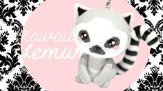 Kawaii Lemur Polymer Clay Tutorial