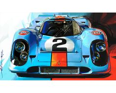 John Krsteski Porsche 917 Gulf #2 Front