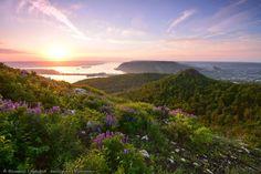 Рассвет вЖигулёвских горах