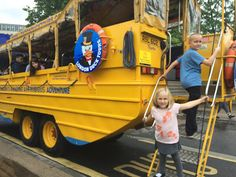 TPcraft.com: Summer Abroad with Kids :: All Aboard the London Duck Tours