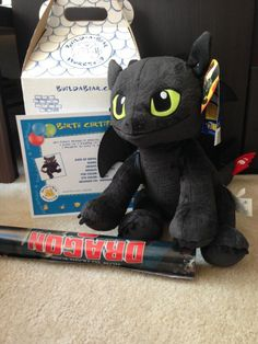 Build A Bear Toothless - How To Train Your Dragon 2 - Stuffed or Unstuffed