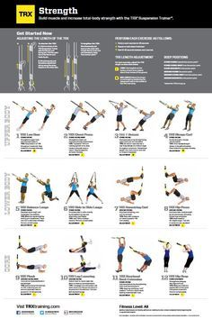 image result for trx workout printable  gym boredom