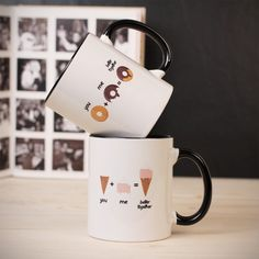 Nuovi arrivi - Tazza You & Me - La combinazione perfetta! You And I, Mugs, Tableware, Gift, Dinnerware, Cups, You And Me, Dishes, Mug