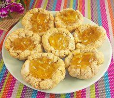 Vegan Gluten-Free Jam-Filled Cookies