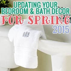 Updating Your Bedroom and Bath Decor for Spring: 2015 Edition » Daily Mom