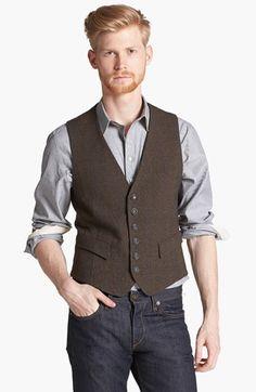 rag & bone 'Grosvenor' Wool Waistcoat