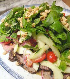 Thai Beef Salad...OMG YUM!