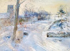 Between the Shadows (oil on canvas) - Timothy Easton jako tisk anebo olejomalba Corporate Christmas Cards, Charity Christmas Cards, Personalised Christmas Cards, Xmas Cards, Christmas Scenery, Winter Art, Winter Is Coming, Winter Scenes, Oil On Canvas