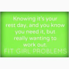 Fit girl problems