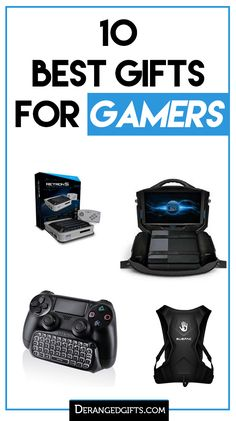 10 Best Gifts for Gamers We have the best and most unique gamer gifts online. Find that perfect gift for the video gamer in your life. Top Tech Gifts, Top Gifts, Best Gifts, Electronic Gifts For Men, Electronic Shop, Group Board Games, Surprise Gifts For Him, Technology Gifts, Gamer Gifts