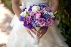 Bridal Bouquet - Purples - Petals by Xavi