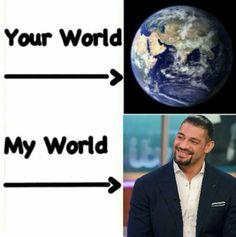 Roman Reigns Family, Wwe Roman Reigns, Wwe Reigns, Wwe Funny, Funny Jokes, Roman Regins, Aj Styles, Seth Rollins, John Cena