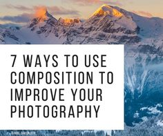 Composition eBook (19 pages of top tips and examples)
