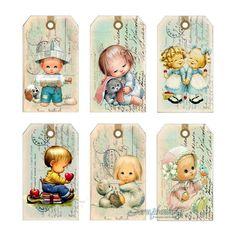 Ideales para un regalo a aun recién nacido, un cumpleaños infantil o cualquier cumpleaños.   Enlace:   http://scrapbooking.com.ua/tags-page-...