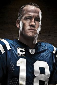Peyton Manning. Qualities you don't see in people very much anymore let alone professional athletes. Love everything about this guy and the way he plays the game.