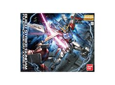 Model kit - Gunpla of Build Strike Full Pack (GAT-X105B) from the anime series Gundam Build Fighters. High quality model that must assembled (includes all snap-in parts and stickers), made of PVC material, with a scale of 1/100 (Master-Grade), by Bandai. Includes detailed assembly instructions.