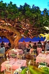 Hau Tree Lanai-Okay a little far for most folks, but if you are ever in Honolulu-this is a must go to restaurant.  Hubby picked this and it was fantastic!