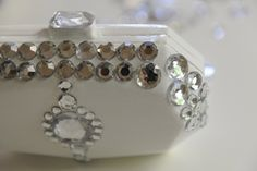 Diy jewelled box clutch