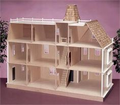 Bostonian Dollhouse Kit - The Magical Dollhouse