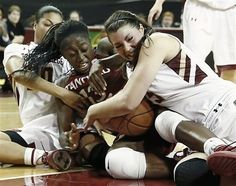 As we said....nothing comes easy for Chiney Ogwumike, she is a fighter! Stanford Cardinal vs. Boston College Eagles -