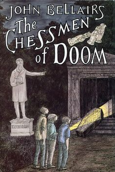 The Chessmen of Doom by John Bellairs, illustrated by Edward Gorey