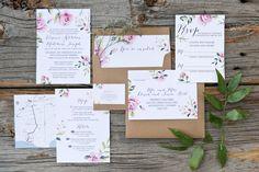 #WishtreeInvites Vintage Shabby Chic | Wedding Invitations | Wedding Suite | Custom Couture Invitations & Stationery | Laura Kelly Photography | www.wishtreeinvites.com