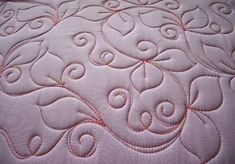Sew-n-Sew Quilting: Starting with a Swirl - several free motion quilting designs by sallie