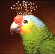 Steven Kenny | OIL | Royal Parrot