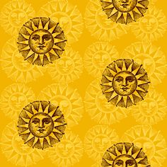 suns fabric by krs_expressions on Spoonflower - custom fabric and wallpaper