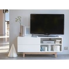 Meuble tv scandinave COPENHAGUE ACHATDESIGN - Meuble TV