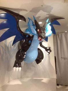 Pokemon Center Mega Tokyo Mega Charizard X figure