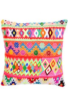 Peruvian Embroidered Pillow Cover