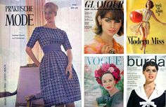 Discovering vintage fashion magazines