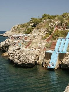 THE TOBOGGAN / Citta del Mare / Palermo, Italy / billed as largest holiday resort in Sicily.