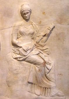 Greek influence on Irish music - good example. Second to the last paragraph. |     Muse with pandoura