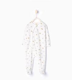 Image 2 of Cats and polka dots pajamas from Zara