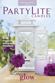 The 2015 Winter/Spring catalog is now available online or at Parties! www.partylite.biz/karenbarber