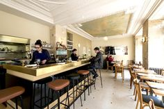 Le Servan: Beautiful and inventive cuisine prepared by Tatiana Levha in Paris' 11th arrondissement