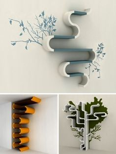 Artsy shelves by ALasso