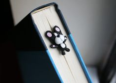 Baxter the Boston Terrier Bookmark. $23.00 USD, via Etsy.  What a GREAT idea!!!