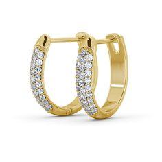 0.30 Carat Round Diamond FG-VS Hoop Earrings in 18K Yellow Gold  #Band #Wedding #gold #whitegold #Luxurious #diamond #diamondring #diamondjewellery #goldjewelry #jewellery #fashion #mensjewelry #mensring #Bracelets #Gift #Valentine #couturejewelry #Men #Pendant #Happy #bespokejewelry #love #Heart #Rose #Gold #diamondEarring #Earring #Diamond #Ring #Diamondring #Eternityring #Halfeternity #Engagement #Wedding #WWE #Ebay #IAMSRK #SHAHRUKH #KHAN #celebrity #Queen